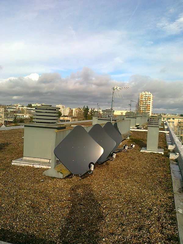 Installation d'antennes collectives en sous-traitance